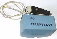 TELEFUNKEN vintage west german TD-7 DYNAMIC MICROPHONE with TFK box - RARE