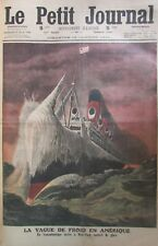 PAQUEBOT TRANSATLANTIQUE / TORTURE FEMME MUSULMAN GRAVURE PETIT JOURNAL 1912