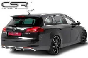 Heck Ansatz Einsatz Spoiler Tuning Diffusor für Opel Insignia A HA103C