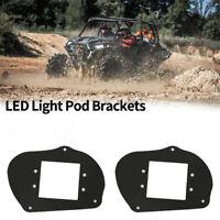 Pair ATV LED Light Pod Brackets For 11-14 Polaris Sportsman 1000 850 570 RZR 800