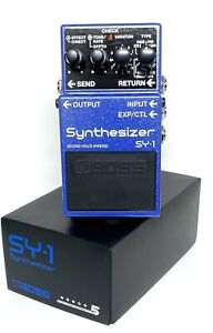 BOSS Synthesizer SY-1 Bass Effects Pedal