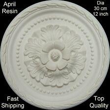 Resin Ceiling Rose Centre Diameter 30 cm 12 inch - Not Polystyrene - April