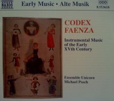 CODEX FAENZA - INSTRUMENTAL MUSIC OF THE EARLY XVth CENTURY