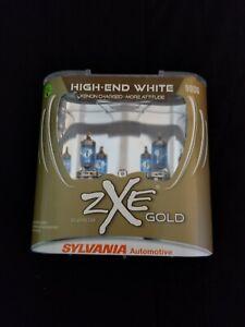 Sylvania Silverstar 9006 ZXE GOLD HIGH-END WHITE XENON CHARGED-MORE ATTITUDE.#B6