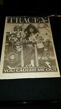 Tracey Ullman You Caught Me Out Rare Original U.K. Promo Poster Ad Framed!