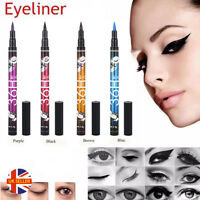 Long Lasting Smudge-Proof Liquid 36H Make-up Black Blue Pen Pencil Eyeliner