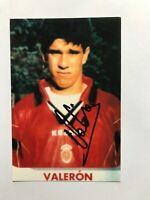 Autogramm JUAN CARLOS VALERON-RCD Mallorca-NS SPANIEN-Ex-Deportivo La Coruna
