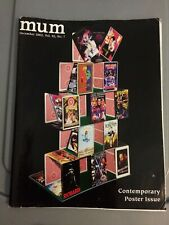 Mum Magazine Dec 2002 -Magic Unity Might- Poster Issue-8 Posters with Details
