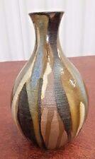 VTG Bobbye Love Runnels Art Studio Pottery Bud Vase RARE Seattle Signed