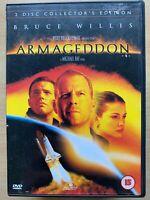Armageddon DVD 1998 Killer Meteor Action Sci-Fi Movie Classic 2-Discs