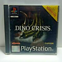 DINO CRISIS SONY PLAYSTATION 1 PS1 GAME WITH MANUAL OFFICIAL UK PAL