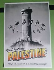 Banksy Walled Off Hotel Palestine Poster with COA