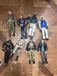 Lanard corps action figures lot mixed lot of 8