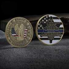 Respect Honor Service Integrity Make No Mistake Challenge Commemorative Coin