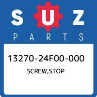 13270-24F00-000 Suzuki Screw,stop 1327024F00000, New Genuine OEM Part