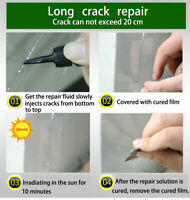 Premium DIY Windscreen Crack Repair Kit Car Chip Windshield Glass Window Tool~