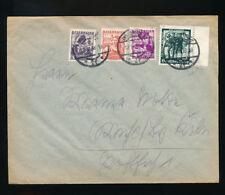 Brief 1938 aus Innsbruck nach Köln mit Mischfrankatur  (H1)