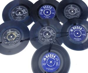 """The Animals, collection of seven 7"""" vinyl singles"""