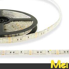 B020 STRISCIA LED RGB 300 SMD 5050 5MT STRIP IMPERMEABILE IP65 12V