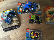 LEGO Racers 8192,8194,8360,8668 (Complet Inc instructions)