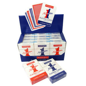 Waddingtons Playing Cards No 1 And Only Red Blue Deck Christmas Gift Idea