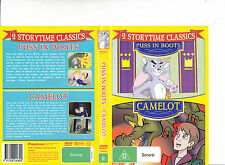 Puss In Boots-1935/Camelot-2 Storytime Classics-Animated-DVD
