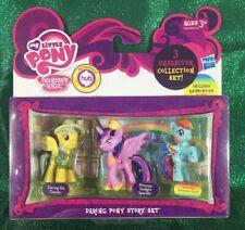 My Little Pony Mini figure Set Daring Do Dazzle, Twilight Sparkle, Rainbow Dash