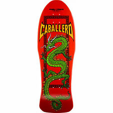 Powell Peralta Skateboard Deck Caballero Cab Chinese Dragon Red RE-ISSUE
