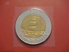 Aland Islands 50 Daler 1994 Map And Boat UNC Bi-Metal Rare Coin
