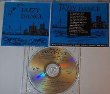 cd: ROCKY T'S JAZZY DANCE - ROCKY TATARELLI - DETROIT