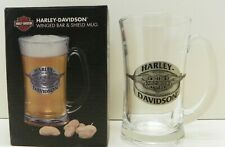 Harley-Davidson Winged Bar & Shield Glass Mug