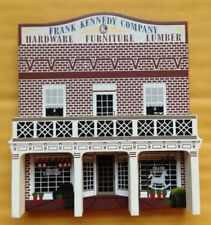 1995 SHELIA'S GONE WITH THE WIND FRANK KENNEDY HARDWARE STORE, SIGNED FIGURINE