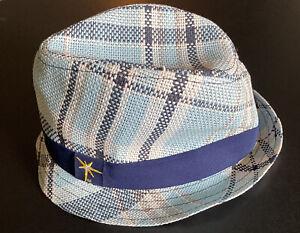 Tampa Bay Rays Men's Fedora Style Hat MLB baseball ⚾️ Logo