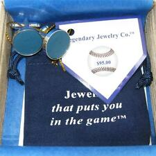 Cuff links + Made from Yankee Stadium vintage seat ~ in 316L stainless Christmas
