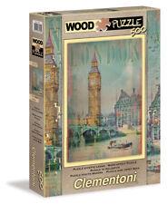 Clementoni 37035 - Puzzle Legno Londra, 500 Pezzi