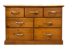 RRP$999 Extra Deep 120cm 7 Drawer Chest Tallboy Pine Timber Newcastle Sydney