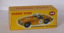 Repro Box Dinky Nr.109 Austin Healey 100 Sport