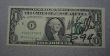 Mark Collie Signed Autographed $1 Bill Country Music 1990's
