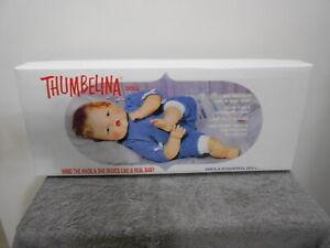 THUMBELINA 20 INCH DOLL MADE BY ASHTON DRAKE MINT IN BOX  NRFB  SUPER CUTE