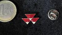 Massey Ferguson Traktoren Pin Badge Logo Rauten