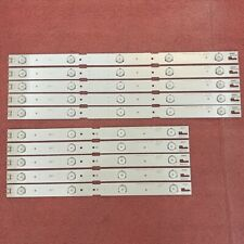 LED Strip(10)For GRUNDIG 43VLE6629 43VLE6524 43GFB6627 2015ARC430 HWCR43D641R