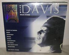 2 CD MILES DAVIS - MILES STONES - NUOVO NEW