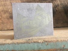 Ink Plate Type On Wood Block Country House Hammock