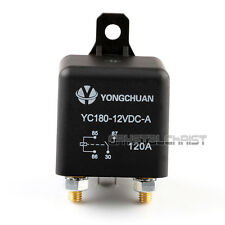 Car Auto Split Charge 12V 120A ON/OFF Relay Switch 4 Pin 4 Terminals 120Amp