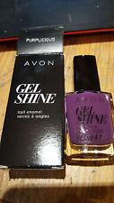 NEW Avon - Purplicious Gel Shine Nail Enamel RRP £7