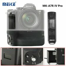Meike MK-A7R IV Pro Vertical Shooting Battery Grip+Wireless Remote For Sony α