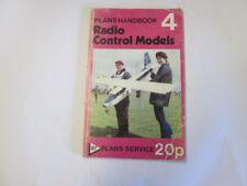 Good - Radio Controlled Model Aircraft And Boats. - Map Plans Handbook No. 1974-