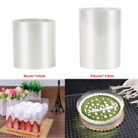 1 Roll Clear Cake Collar Cake Border Kitchen Chocolate Pastry Baking Tool Decor