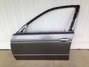 BMW E39 97-03 528 530 540 M5 Front Left Driver Door Shell Sterling Grey Gray