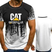 2019 Fashion Caterpillar Power Print Short Sleeve T-Shirt Summer Casual Tops Tee